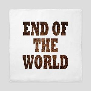 End of the world Queen Duvet