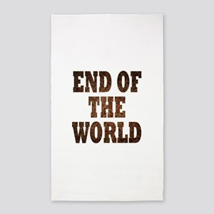 End of the world Area Rug