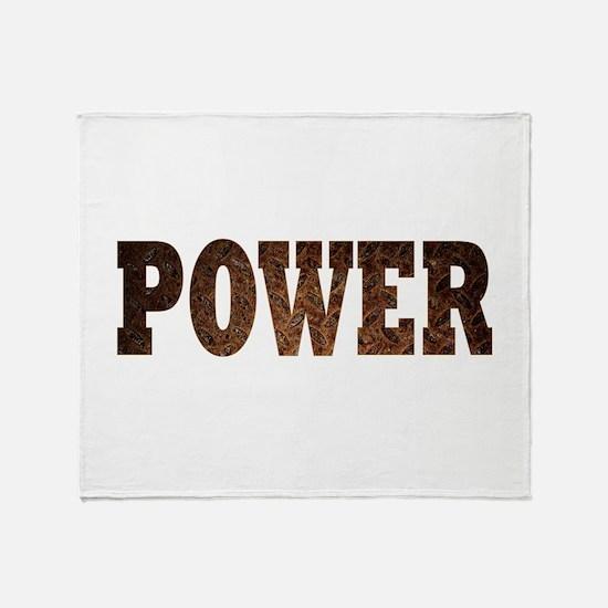 Power Throw Blanket