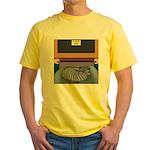 Cats Life Yellow T-Shirt