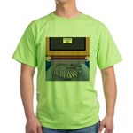Cats Life Green T-Shirt