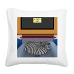 Cats Life Square Canvas Pillow