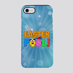 Easter Fool! Cracked Eggs iPhone 8/7 Tough Case