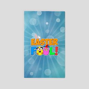 Easter Fool! Cracked Eggs Area Rug