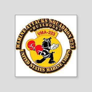 USMC - Marine Attacks Squadron 223 with Text Squar