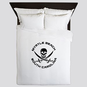 South Carolina - Myrtle Beach Queen Duvet