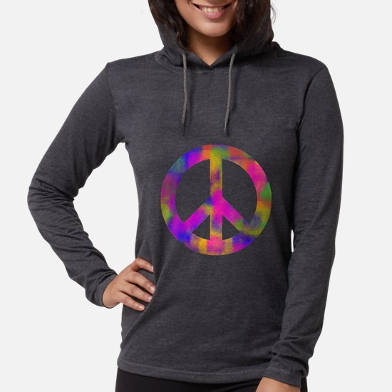 Colorful Peace Sign Long Sleeve T-Shirt