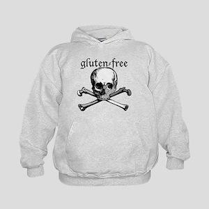 Gluten-Free Pirate Skulland Crossbones Sweatshirt