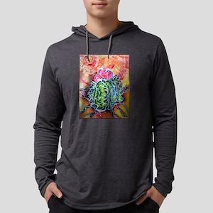 Colorful cactus, southwest desert art Long Sleeve