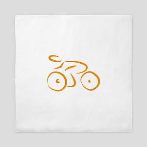 bike logo Queen Duvet