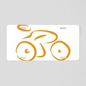 bike logo Aluminum License Plate