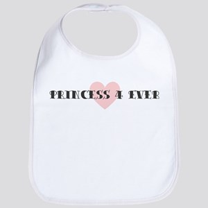 Princess 4 ever Bib