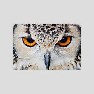Owl Head 4' x 6' Rug