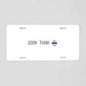 Udon Thani Aluminum License Plate