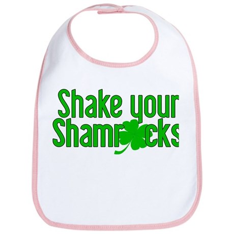 Shake Your Shamrocks! Bib