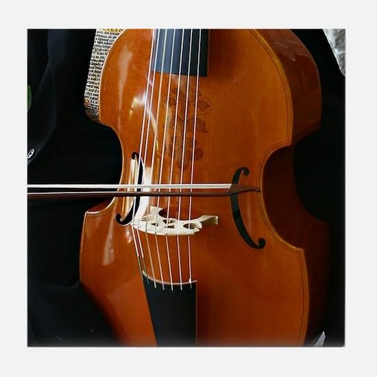 Viols in Our Schools Viola da Gamba Tile Coaster
