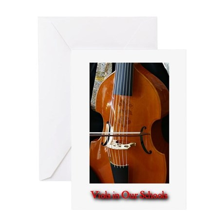 Viols in Our Schools Greeting Card