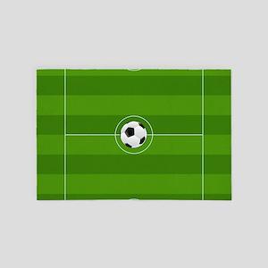 Football Field 4' x 6' Rug