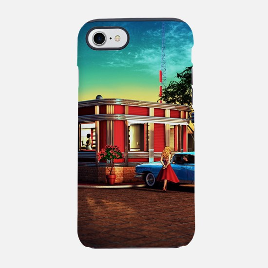 Vintage Restaurant iPhone 8/7 Tough Case