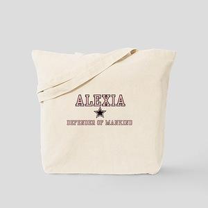 Alexia - Name Team Tote Bag