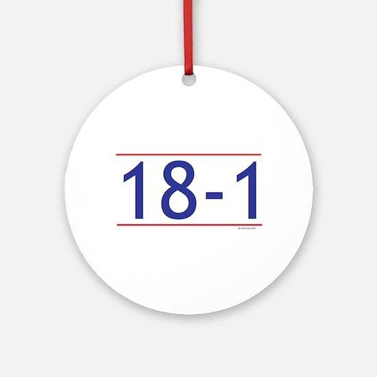 18-1 Ornament (Round)