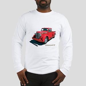 The Diamond T Long Sleeve T-Shirt