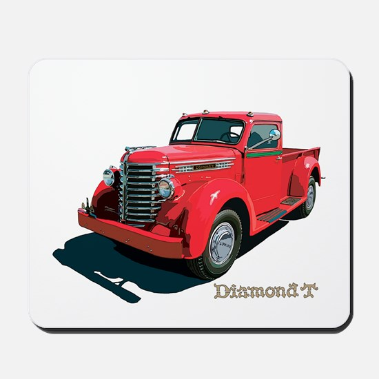 The Diamond T Mousepad