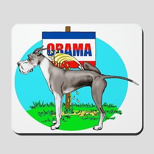 Mantle Dane Pi$$ on Obama Mousepad