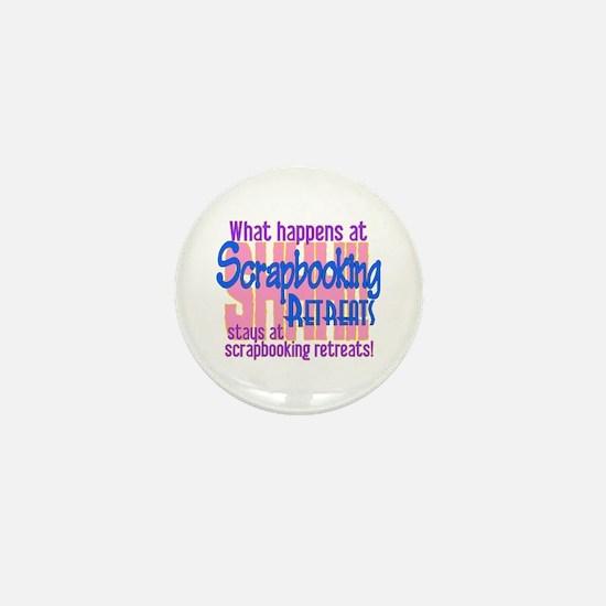 Scrapbooking Retreats Shhh! Mini Button