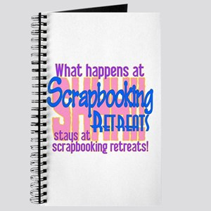 Scrapbooking Retreats Shhh! Journal