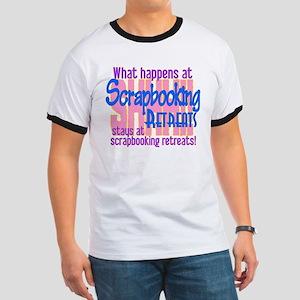 Scrapbooking Retreats Shhh! Ringer T