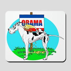 Harle Dane Pi$$ on Obama Mousepad