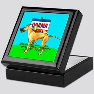 Fawn Dane Pi$$ on Obama Keepsake Box
