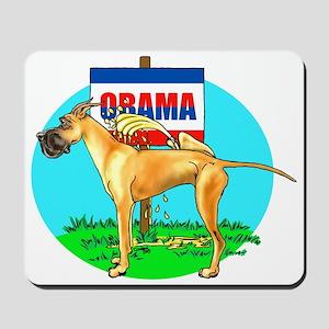 Fawn Dane Pi$$ on Obama Mousepad