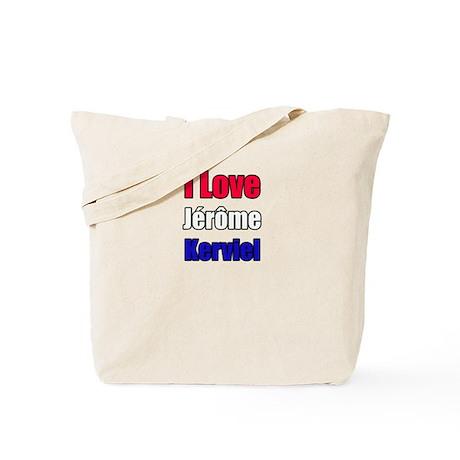 """I Love Jérôme Kerviel"" Tote Bag"