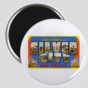 Silver City New Mexico Greetings Magnet