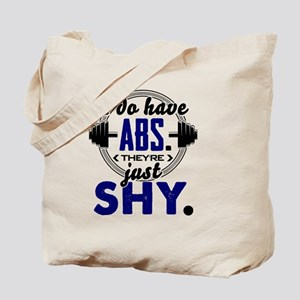 Shy Abs Fitness Workout Gym Training Desi Tote Bag