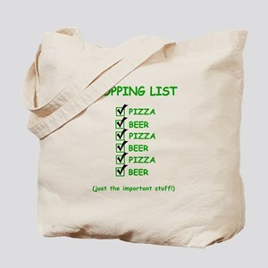 Beer - Pizza Tote Bag