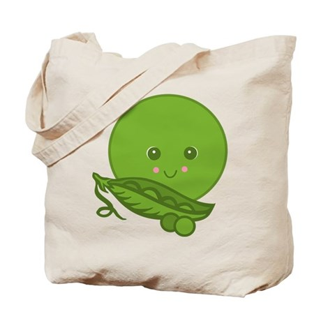 Sweet Little Pea Tote Bag