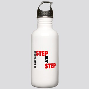 it only works step by Stainless Water Bottle 1.0L