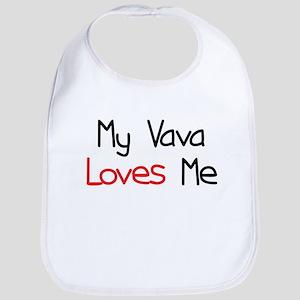 My Vava Loves Me Bib