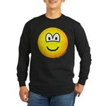 Emoface Long Sleeve Dark T-Shirt