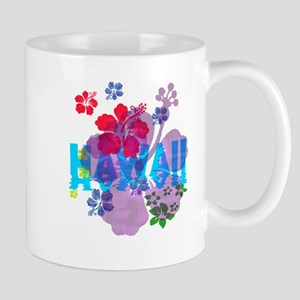 Hawaii Hibiscus 11 oz Ceramic Mug