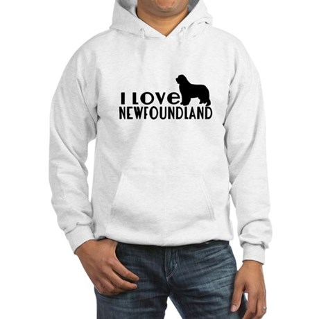 I Love Newfoundland Hooded Sweatshirt