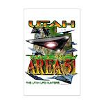 2005 Utah The New Area 51 Mini Poster Print