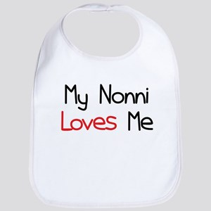 My Nonni Loves Me Bib
