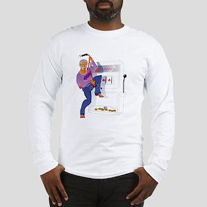 Gambling Casino Grandpa Long Sleeve T-Shirt