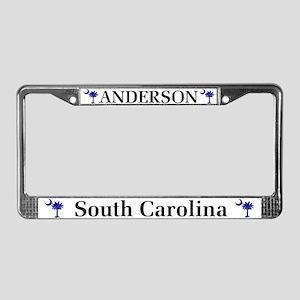 Anderson South Carolina License Plate Frame
