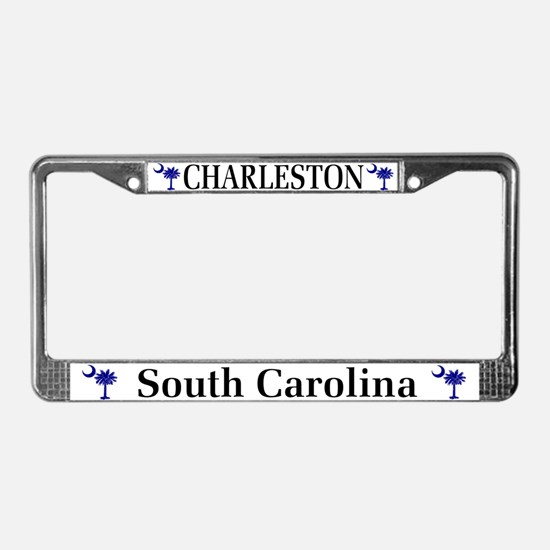 Charleston South Carolina License Plate Frame
