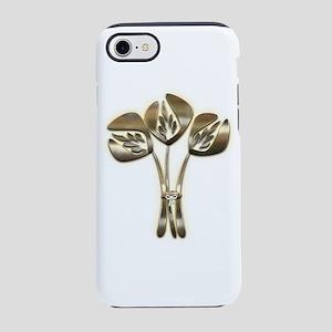 Gold Tulip Hero iPhone 8/7 Tough Case